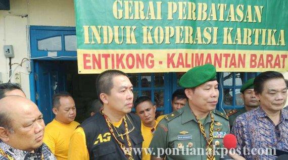AGP - Kemendag - Inkopkar, Operasi Pasar di Entikong