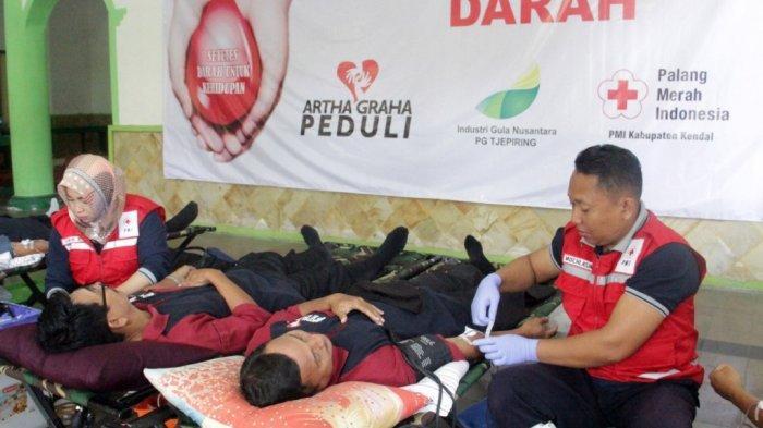 200 Kantong Darah Terkumpul, PMI Kendal Berterima Kasih...